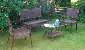 High end garden furniture