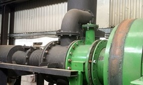 Disposal of Tyre Pyrolysis Processing Plant