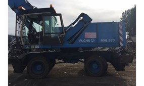 Waste Recycling machinery auction