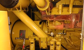 2 X CATERPILLAR GENERATORS CAT 3412