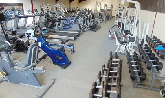 Entire Contents of Gym and Fitness Sale