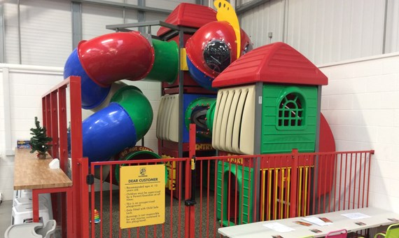 Homebase play area
