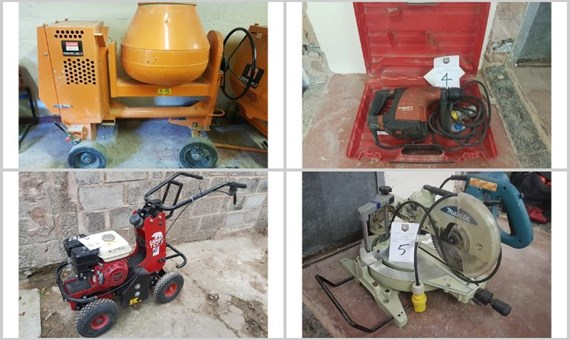 NCM's Contractor tools and equipment auction